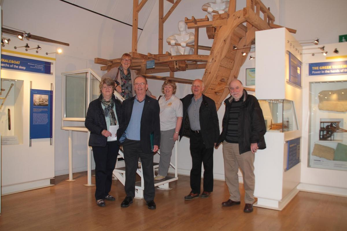 Visit to Henley River and Rowing Museum May 2016 -