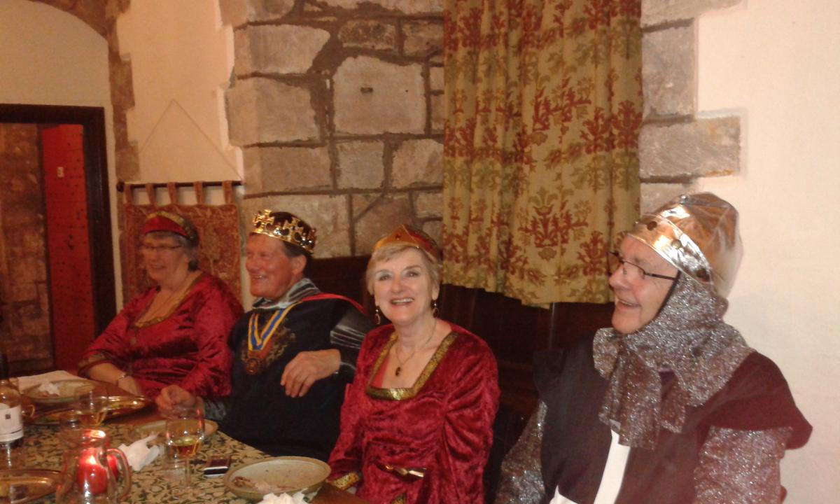 Rotary Monmouth - Medieval Banquet at St Briavels Castle