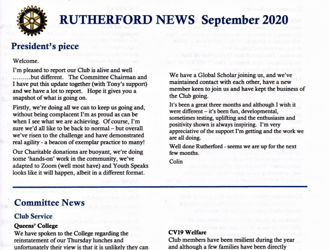Rutherford News