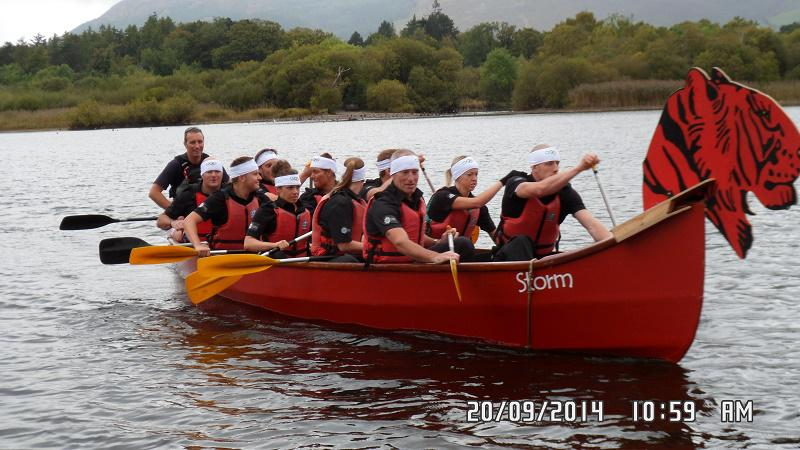 TIGER BOAT RACING RAISES OVER £5000 FOR CHARITY -