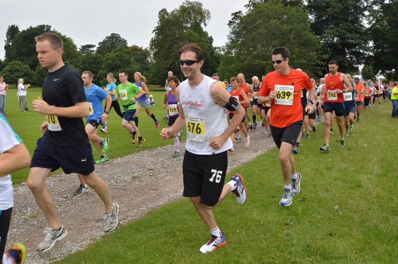 The start of the 2015 Englefield 10k