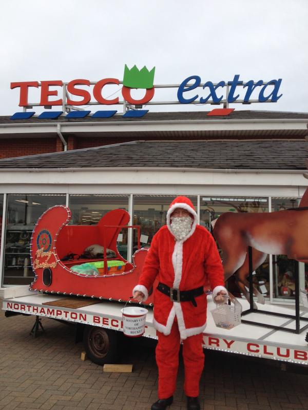 Santa at Tesco