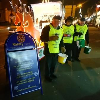 Hornchurch & Upminster Rotary Club Christmas Collection