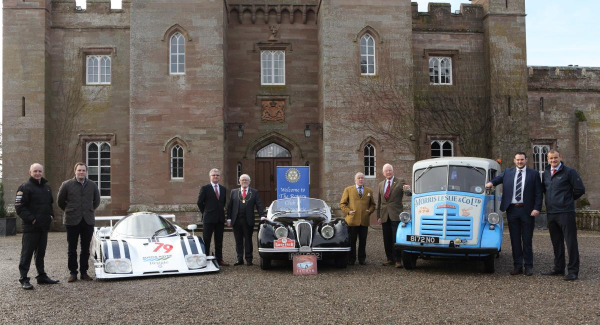 2018 Press Launch at Scone Palace on 6th February