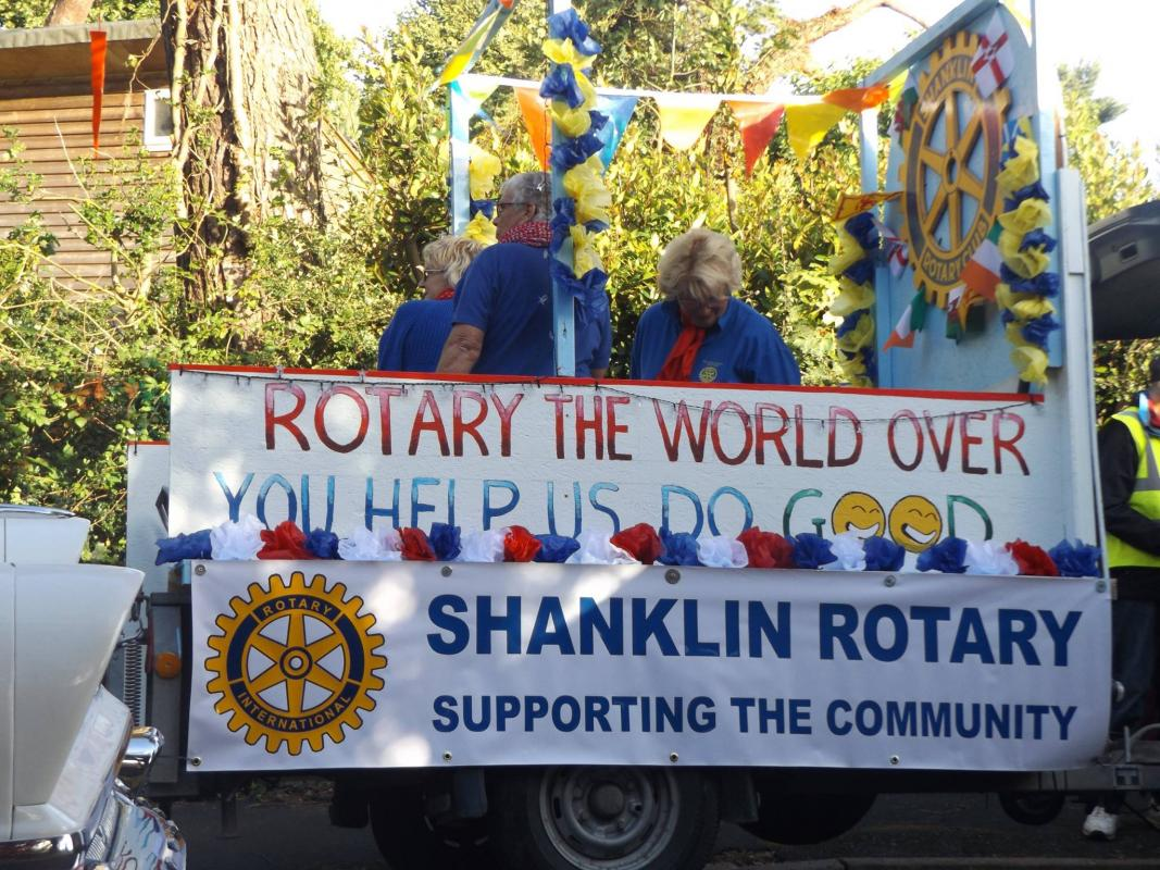 Shanklin Rotary Club Float