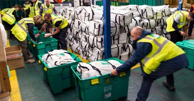 Emergency Aid - Preparing Shelterboxes