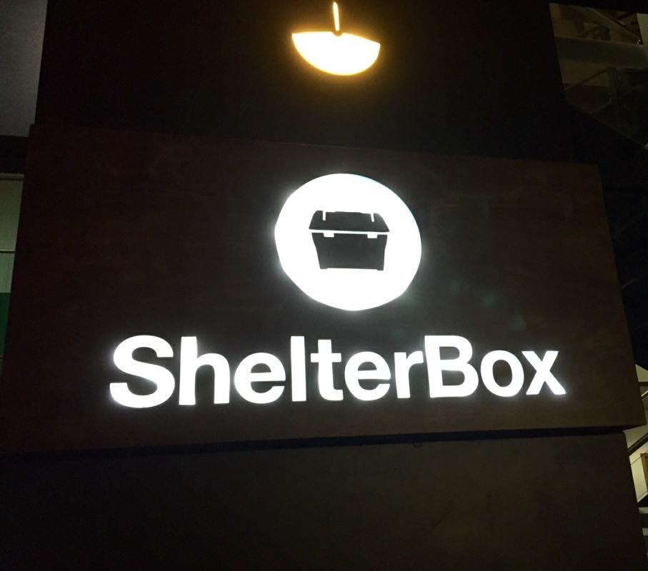 Visit to ShelterBox H.Q. -