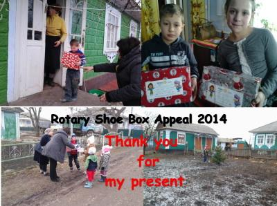 2502 Shoe boxes collected across the Island