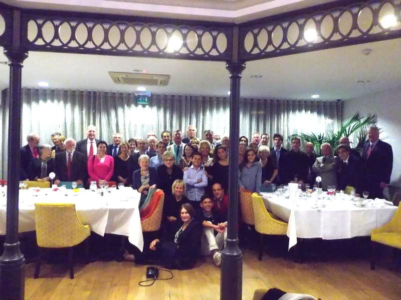 A happy evening with Siena Rotary