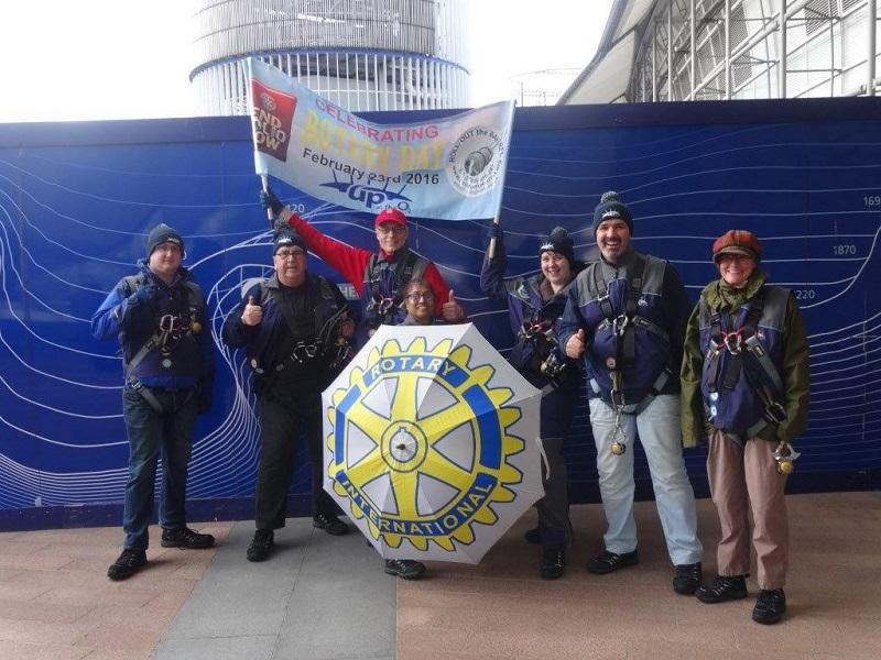 Feb 2016 Simon Lake tackles the Millenium Dome -