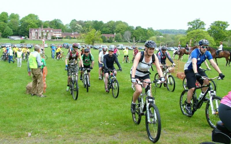 HORSE OR CYCLE OR WALK. OUR MAJOR EVENT OF THE YEAR. -