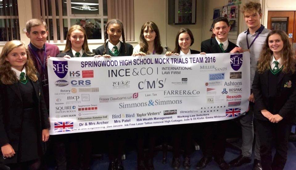 Our Club has contributed £250 towards this group's costs in attending a Law competition in New York. They are flying out 08.11.16. I have sent them best wishes from the Club and have asked them to let me know how they get on.