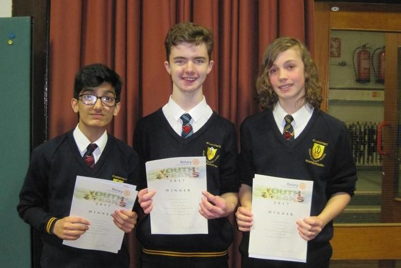 Youth Speaks annual  event - St Augustine's School- Junior Team - past Youth Speaks winners