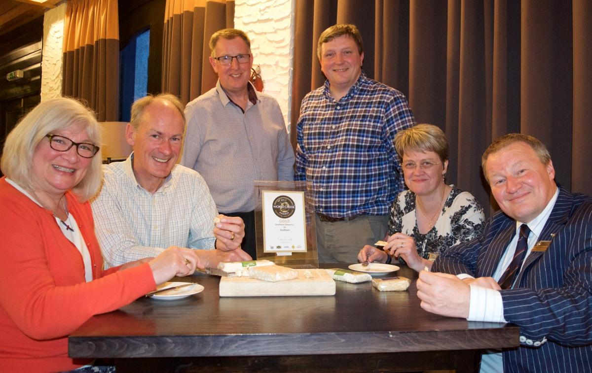 Rotarians and friends enjoy the Strathearn Cheese