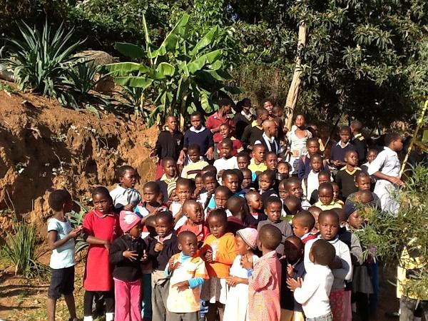 Rotary Working in Swaziland 2015 to date - Some of the Children supported