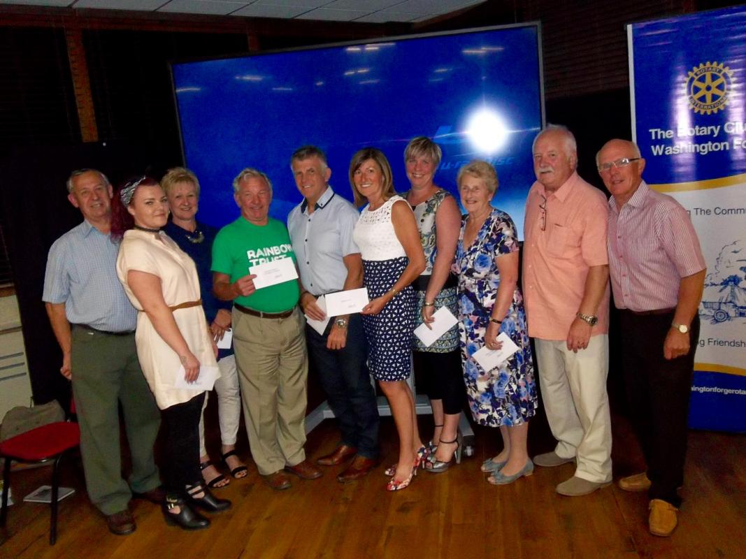 Swimathon 2016 -  Presentation Evening  - Representatives of the organisations supported from the Swimathon