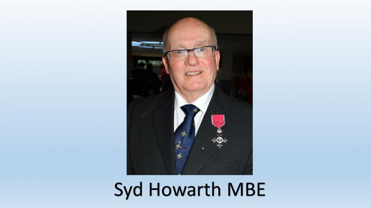 Syd Howarth MBE