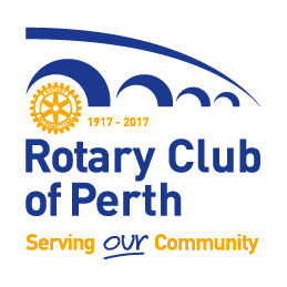 Rotary Club of Perth Centenary Logo