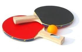 Aug 2020 Outdoor Table Tennis - Eddington - ping pong bats 2020