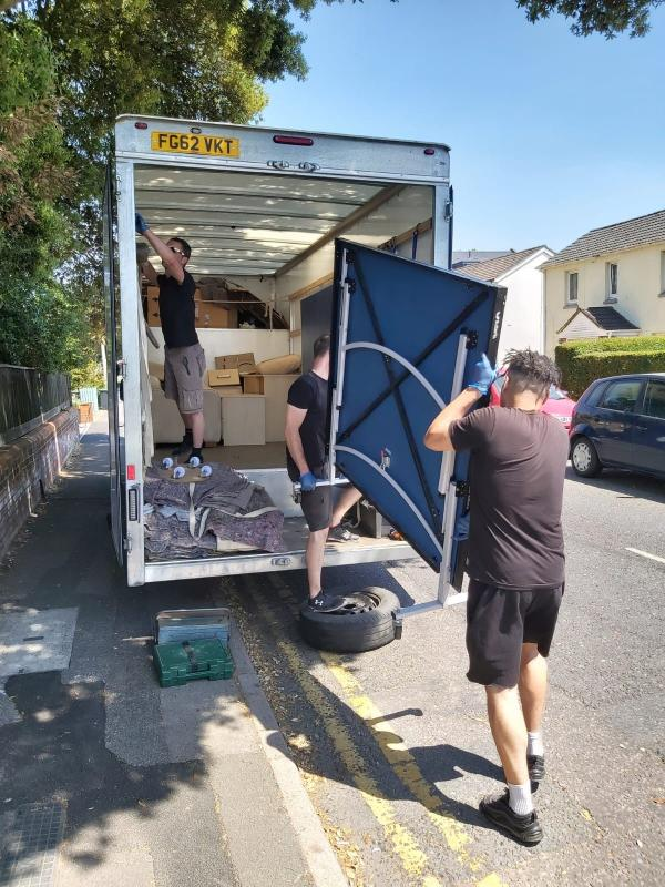 Delivery of table tennis table for vulnerable young persons with mental health disadvantages