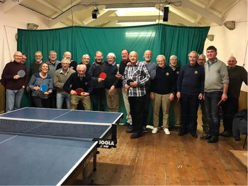Table Tennis Challenge with Bideford Bridge Club