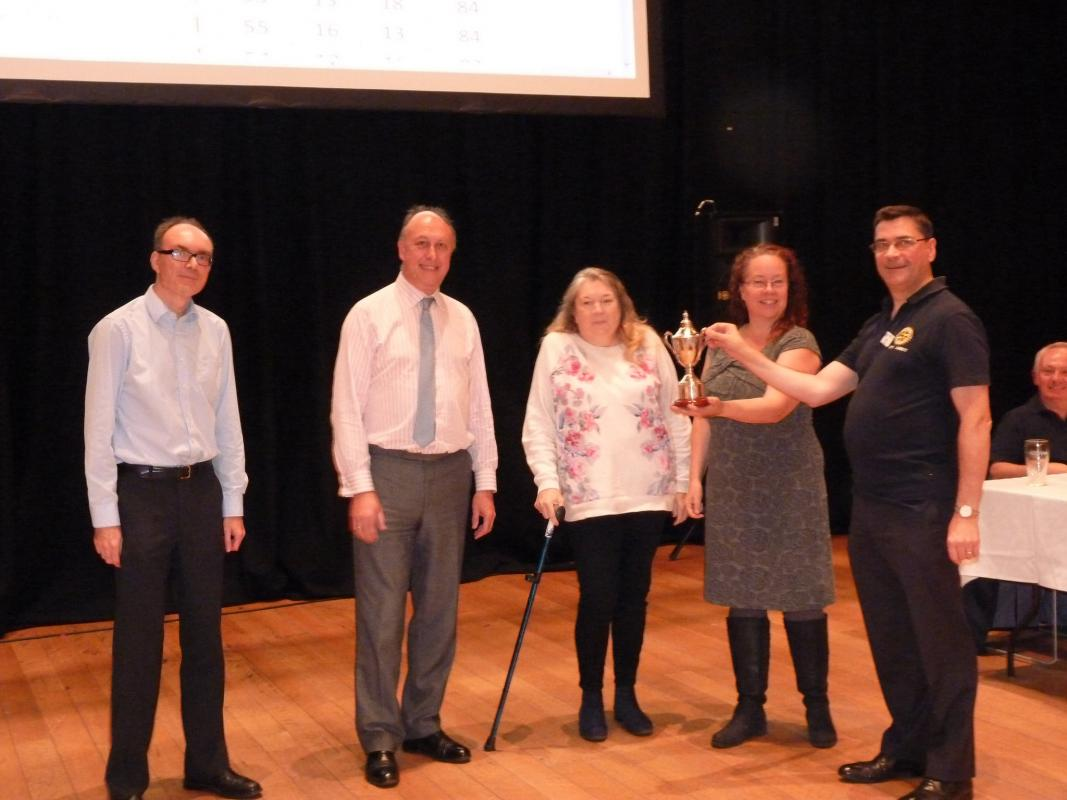 Test the Town Charity Quiz -  Great Success  - Winners 2017 Jacobs Allen