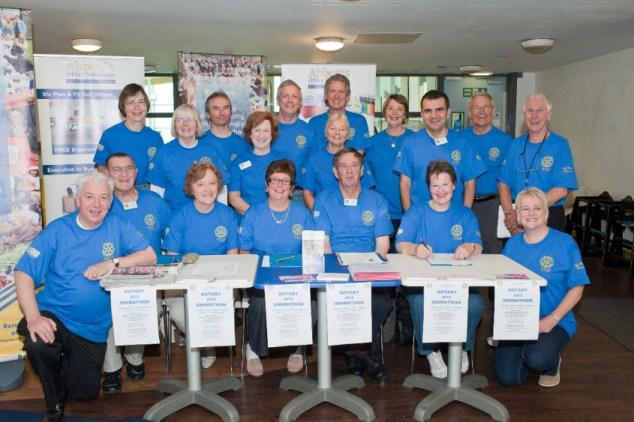 Thame Rotary's Charities Evening - Thame Rotary Volunteers - members, friends and families