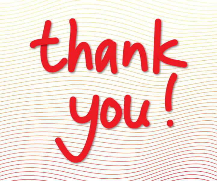 Thank You image