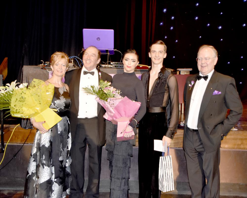 GRAND CHARITY BALL - Many thanks to Alison Park MD of Dance Events North West, who in collaboration with Church & Oswaldtwistle Rotary, presented a Grand Charity Ball on Friday 1st March, at the Longfield Suite Prestwich. With the monies raised from the Ball and the addition,