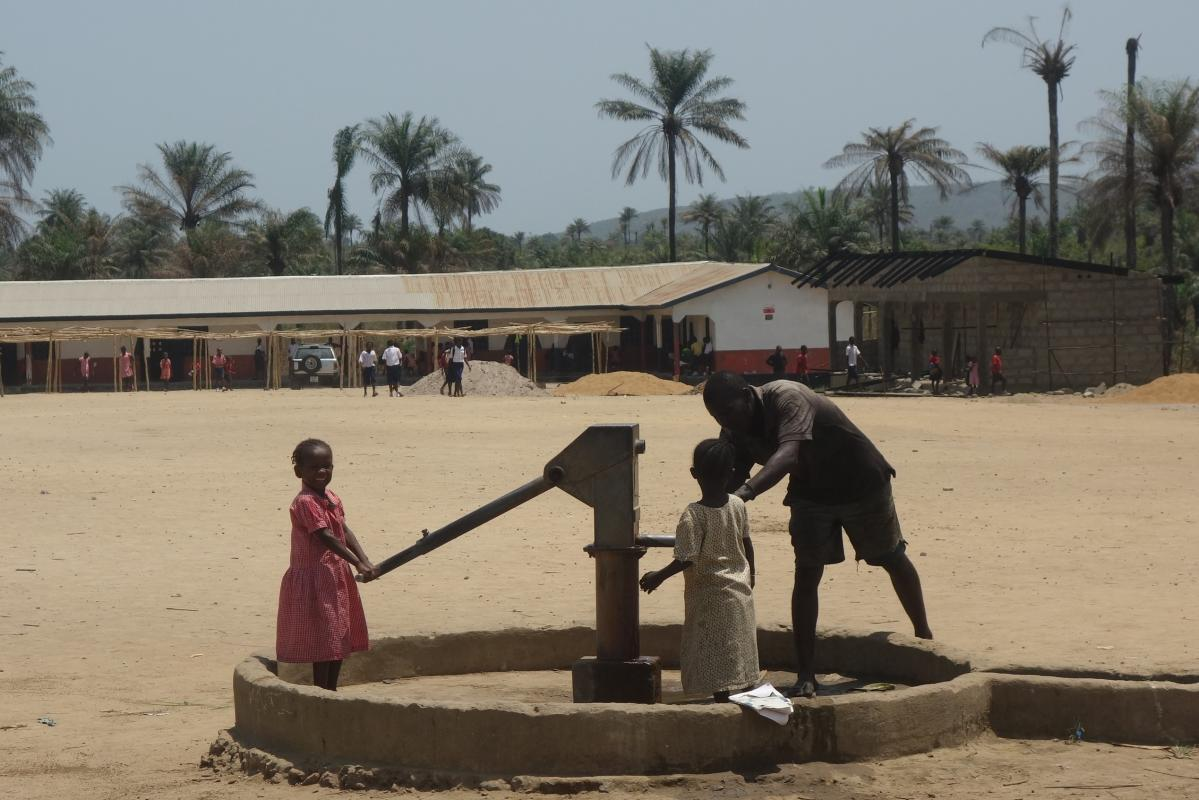 The David School - New Water Pump