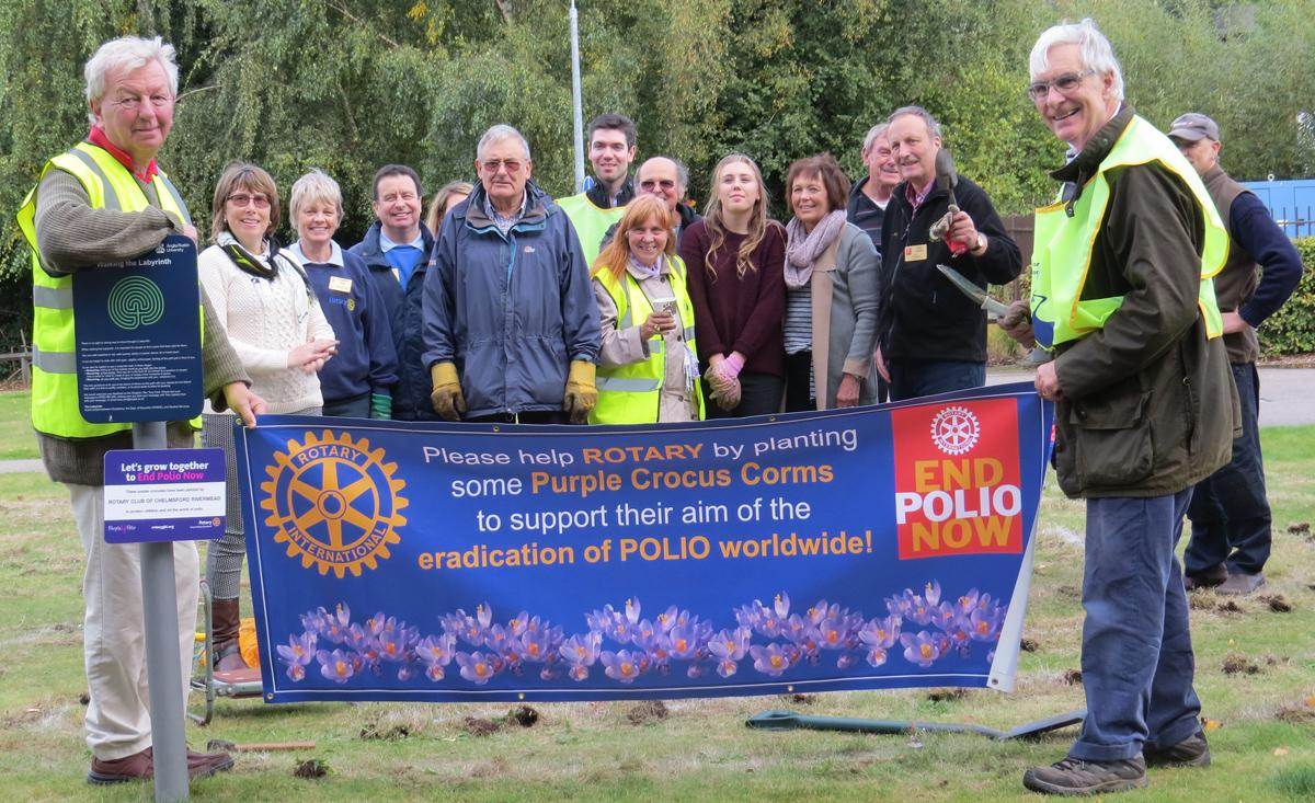 The Rotary Global fight against Polio