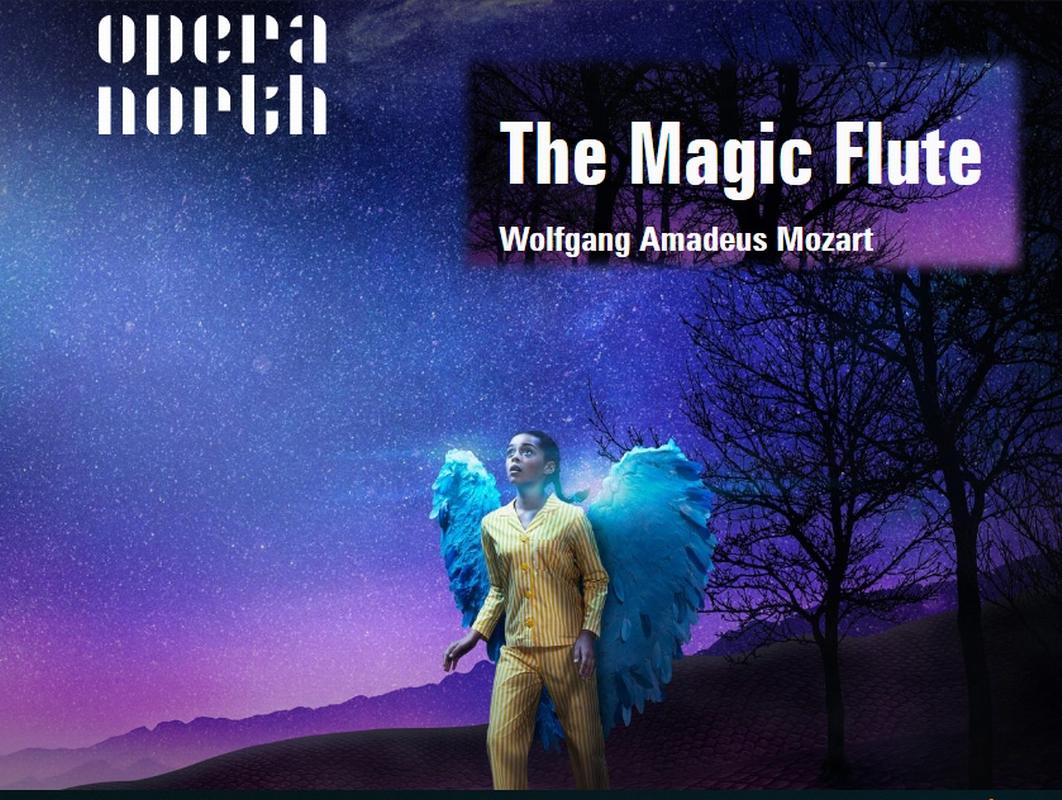 Visit to see The Magic Flute at Leeds Grand - The Magic Flute Opera presented by Opera North