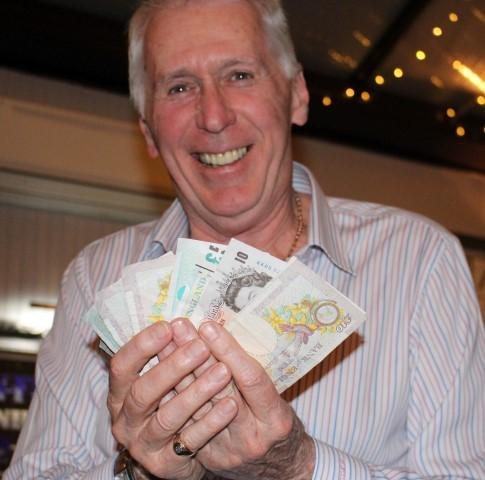 Club Social Events - Paying out 'Bar Tab' at The Ship, Tiptree