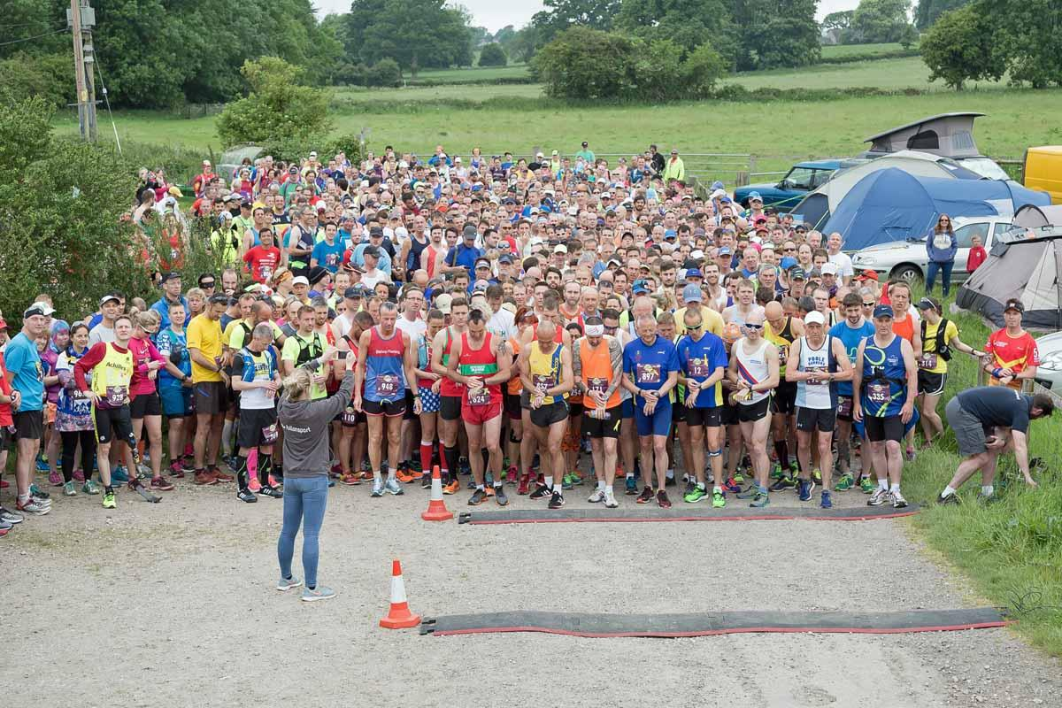 Dorchester Marathon 2017 - Start of the Marathon