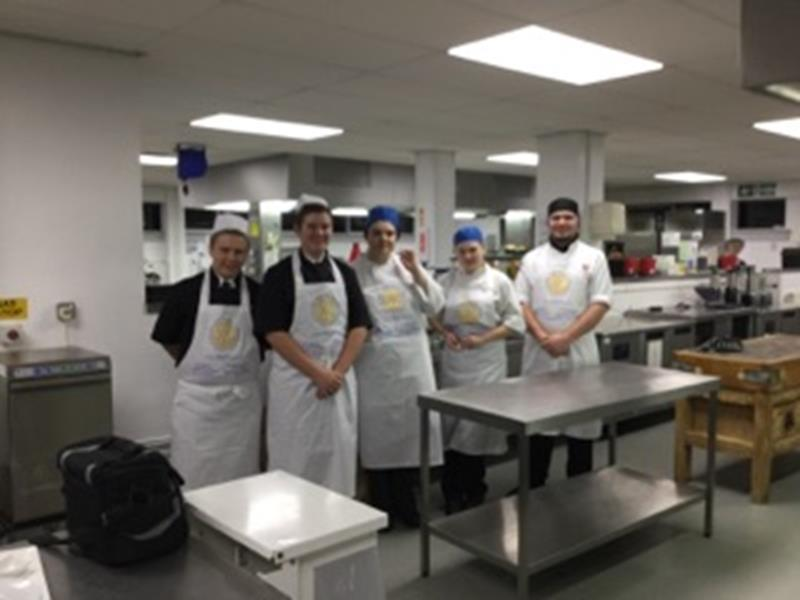 Rotary Young Chef - The Young Chefs ready for action