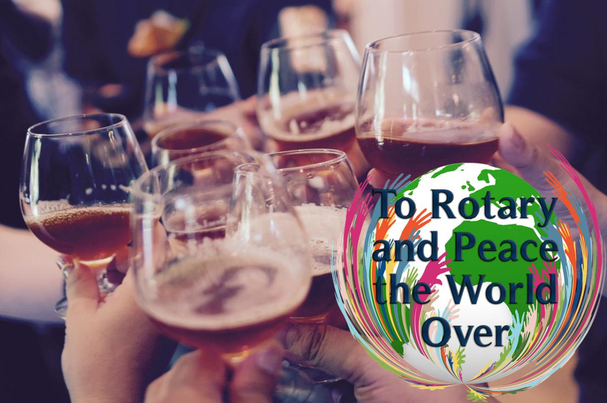 To Rotary and Peace the World OVER!