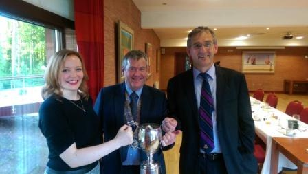 Sport - Tom Dickson Trophy Presentation 2015