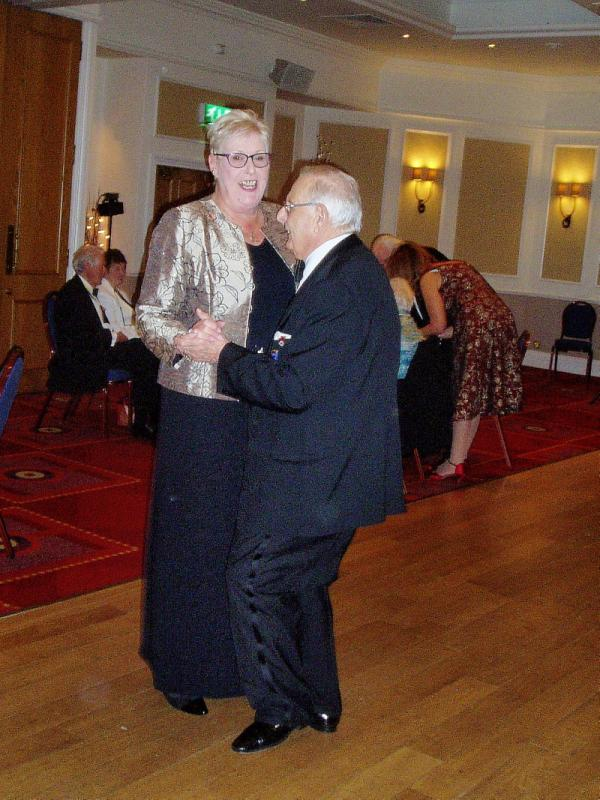 President's Night Dinner Dance - Tony and Elizabeth started the dancing