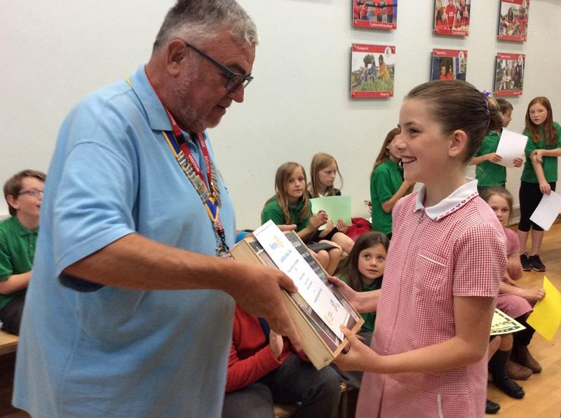 Primary School Art - Rhiwbina Primary School has now won the top school in the Rotary Art Competition a total of eight times since 2003.