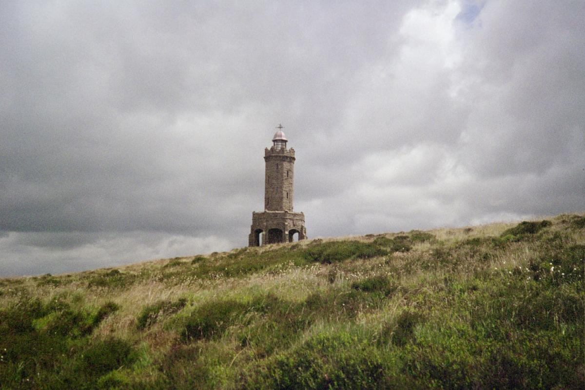Darwen's Victoria Jubilee Tower on the moors