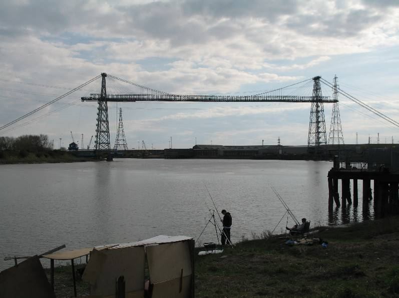 This is the famous Transporter Bridge