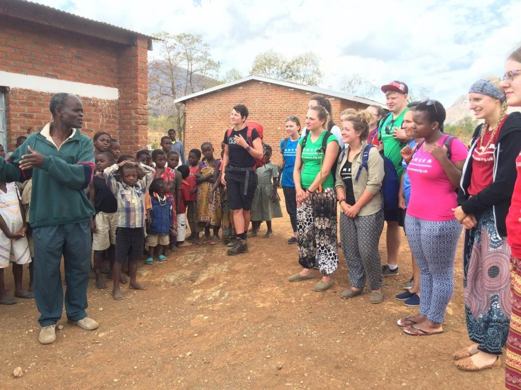 Voluntary Service Overseas visitors in Malawi