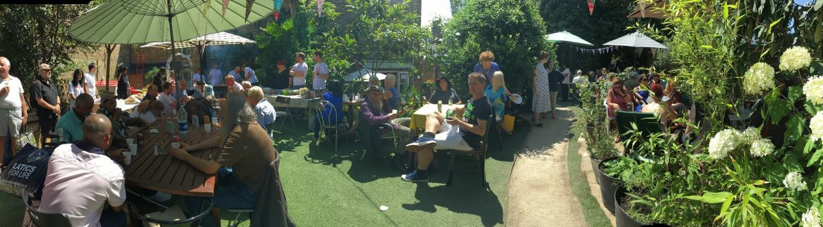 Vineyard Community Centre - The Summer Barbecue in the garden. So lucky with the sunshine
