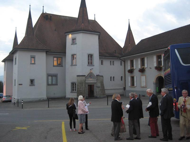 Members of the Rotary Club of Abergavenny visit Switzerland as the guests of our twin club, the Rotary Club of Payerne La Broye