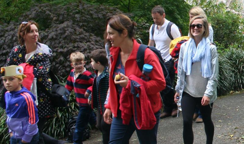 On 13th June, in the grounds of Buckland Abbey, children and parents from Hyde Park Infant School did a sponsored walk for Literacy in a Box and learned a little about life in Zambia