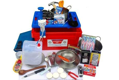 Contents of a Water Survival Box