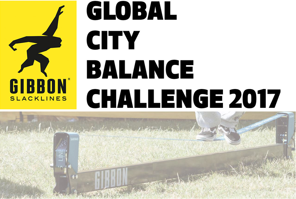 EVENT NOW OVER - SUPER DAY HAD BY EVERYONE! 110 People managed to balance on a slackrack! Global Slackline Balance Challenge at Rotary Club of Buxton Summer Fair & Charity Bazaar -