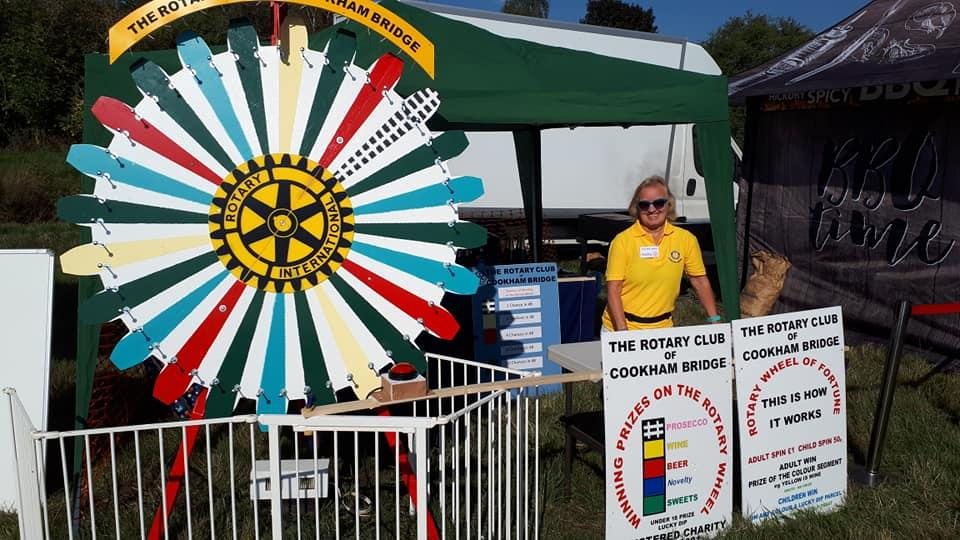 The Rotary Wheel at Cookham Regatta 2018
