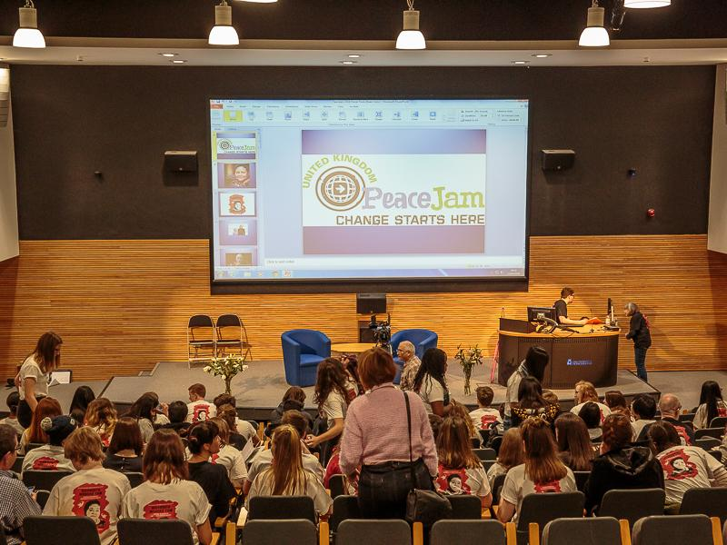 PeaceJam 2016 UK Conference - PeaceJam 2016 all ready to start