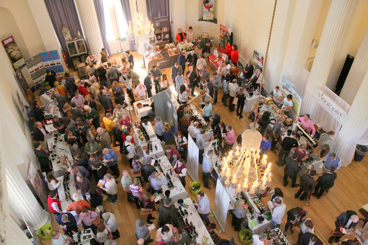 Cheltenham Wine Festival 7th April 2018 -               Wine Festival in Pittville Pump Rooms